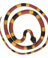 Grote rubberen nep python decoratie slang 137 cm 10140377