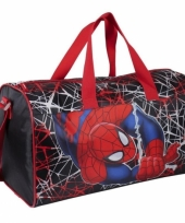 Grote spiderman kinder sport reis tas