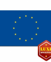 Grote vlag van europese uni