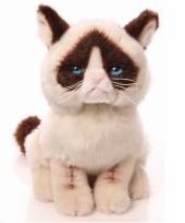 Grumpy de kat knuffel 23 cm