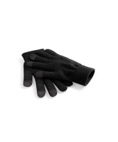 Gsm fietshandschoenen zwart