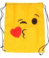 Gymtas gele smiley kus