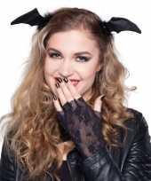 Halloween accessoires vleermuis diadeem