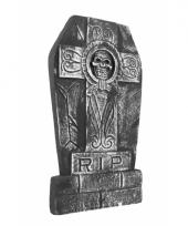 Halloween decoratie doodskist grafstenen 50 cm