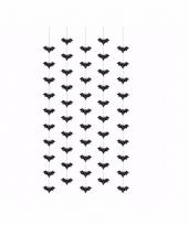 Halloween hangdeco vleermuizen 5 stuks
