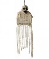 Halloween hangende decoratie mummie skelet 70 x 90 cm