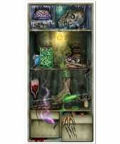 Halloween horror koelkast poster versiering decoratie 76 x 152 cm