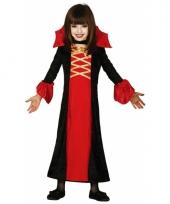 Halloween kleding meisjes vampier 10060399