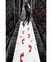 Halloween loper met bloed afdrukken 450 x 60 cm