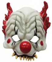Halloween maskertje horror clown