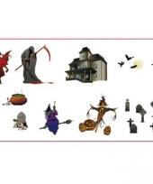 Halloween stickers 9 stuks