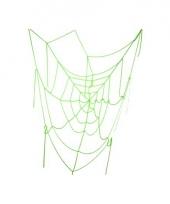 Halloween versiering spinnenweb 100 cm