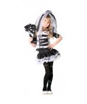 Halloween zombie bruidsjurk voor meisjes