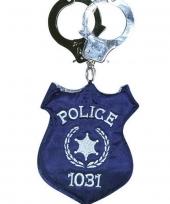 Handtas police met handboeien