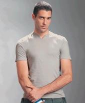 Hanes slit neck t-shirt