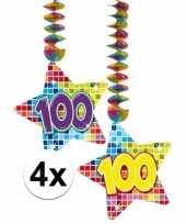 Hangdecoratie verjaardag 100 jaar 10126776
