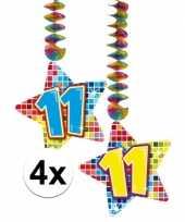 Hangdecoratie verjaardag 11 jaar 10126594