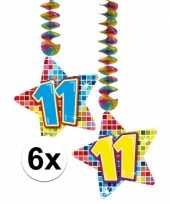 Hangdecoratie verjaardag 11 jaar 10126603