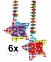 Hangdecoratie verjaardag 25 jaar 10126447