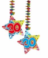 Hangdecoratie verjaardag 30 jaar