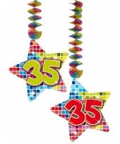 Hangdecoratie verjaardag 35 jaar