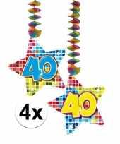 Hangdecoratie verjaardag 40 jaar 10126452