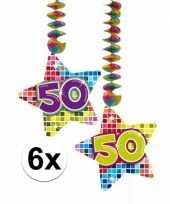 Hangdecoratie verjaardag 50 jaar 10126456