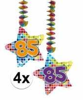 Hangdecoratie verjaardag 85 jaar 10126432