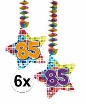 Hangdecoratie verjaardag 85 jaar 10126437
