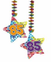 Hangdecoratie verjaardag 85 jaar