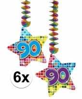Hangdecoratie verjaardag 90 jaar 10126528