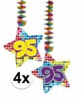 Hangdecoratie verjaardag 95 jaar 10126444