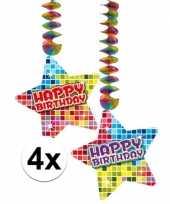 Hangdecoratie verjaardag happy birthday jaar 10126779