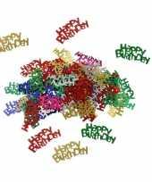 Happy birthday feest confetti 60 gram