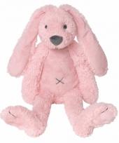 Happy horse knuffel konijn roze 28 cm