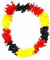 Hawaii slinger zwart geel rood