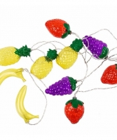 Hawaii thema led verlichting fruit 200 cm