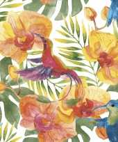 Hawaii zomer thema servetten 20 stuks