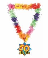 Hawaiikrans abraham 50 jaar