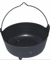 Heksen ketels zwart 37 cm