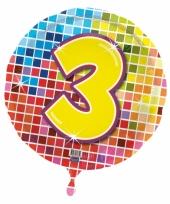 Helium ballon 3 jaar