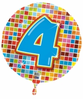 Helium ballon 4 jaar