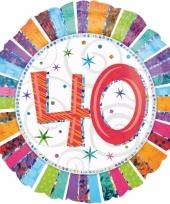 Helium ballon 40 jaar