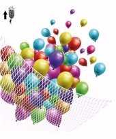 Helium ballonnennet gat aan bovenkant voor 200 stuks