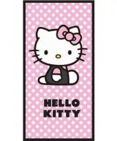 Hello kitty strandlaken 70 x 140 cm