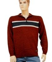 Heren pullover rood