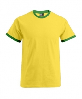 Heren shirt braziliaanse kleuren