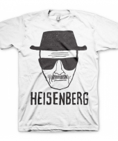 Heren t-shirt heisenberg wit