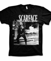 Heren t-shirt scarface wanna play rough