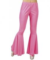 Hippie broek roze voor dames